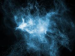 Evolving Fractal Nebulae - stock illustration