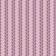 knitted seamless pattern - stock illustration