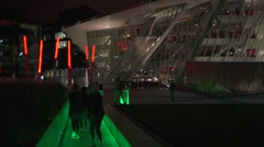 Bord Gas Energy Theater Dublin Stock Footage