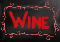 Wine Concept Stock Illustration