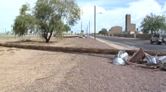 Davis-Monthan Monsoon Damage Stock Footage
