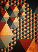 Abstract geometric pattern as background Stock Photos
