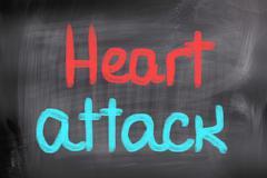 Heart Attack Concept - stock illustration