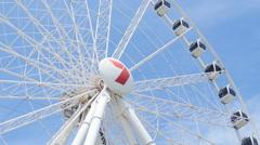 Brisbane big wheel 4K Stock Footage