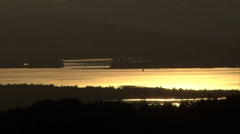 Chiemsee evening mood Stock Footage