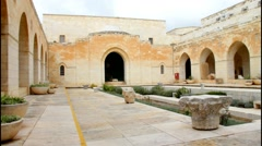 Rockefeller Archaeological Museum. Jerusalem Stock Footage