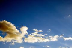 Sky daylight. Natural sky composition. Element of design. Stock Photos