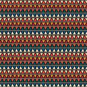 Triangle Seamless Tile Pattern Stock Illustration