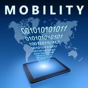 mobility - stock illustration