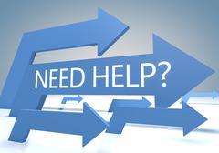 need help - stock illustration