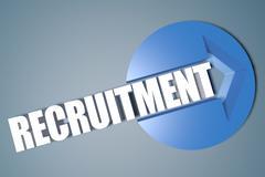 recruitment - stock illustration