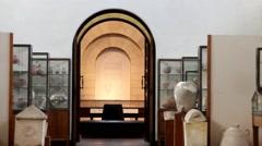 Rockefeller muzeum. Jerusalem Stock Footage