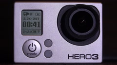 Working Action Camera. 4K. Stock Footage