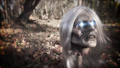 Spellcaster | Beheaded Witch with Glowing Eyes Stock Footage