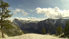 Yosemite National Park Time Lapse Stock Footage