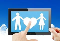 Black generic tablet pc, 3d render. Stock Illustration