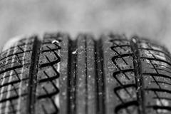 new tire pattern - stock photo