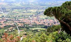 Toscana view - stock photo