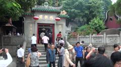 Macau, A-Ma Temple, Ma Kok Miu Stock Footage