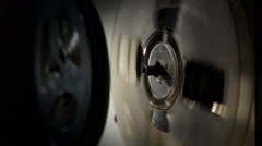 Analog reel tape recorder 4 Stock Footage