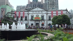 Civic and Municipal Affairs Bureau of Macau Stock Footage