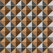 Two tone metalic studs seamless texture Stock Illustration