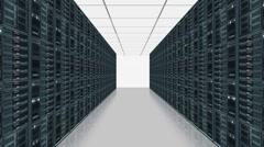 Data server center - stock footage