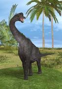 Dinosaur Brachiosaurus Stock Photos