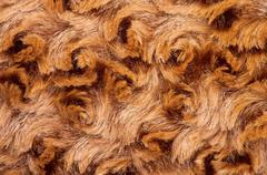 Faux Fur Background - stock photo