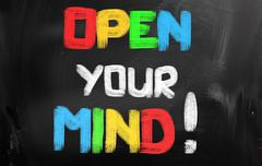 Stock Photo of Open Your Mind Concept