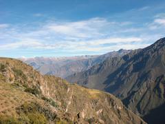 Stock Photo of colca canyon