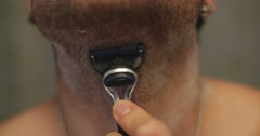 Jm1430 Razor Blade Shaving1 Stock Footage