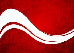 Grunge red wavy background Stock Illustration