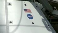 NASA - Hydro Impact Basin Boilerplate Test Article Drop Test Stock Footage