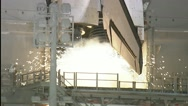 Endeavour Launches, Carrying 'Room With A View' To Station Stock Footage