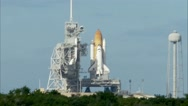 Atlantis Launches With Supplies, Equipment for Station Stock Footage