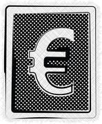 polka dot symbol illustration - stock illustration