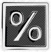Polka dot symbol illustration Stock Illustration