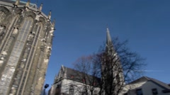 Aachen Cathedral, Germany Stock Footage