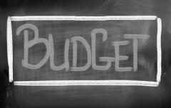 Budget Concept Stock Illustration