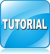 tutorial icon - stock illustration