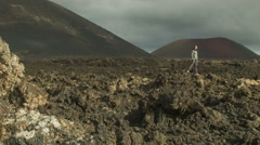 Volcanic Landscape - stock footage