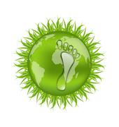 Go green concept, save our planet Stock Illustration