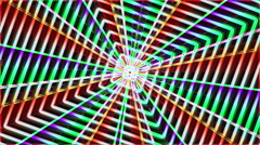 Neon psychedelic rainbow background - 1080p Stock Footage