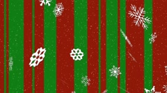 Snowy Christmas Loop Stock Footage