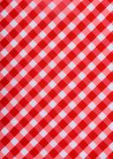 Stock Photo of Classic red table cloth