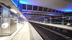 Stock Video Footage of New Blackfriars Railway station in London