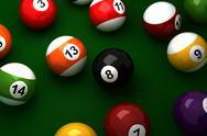 Stock Illustration of billiard balls