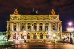 The palais garnier (national opera house) in paris, france Stock Photos