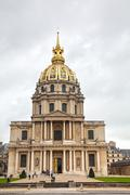 the army museum in paris, france - stock photo